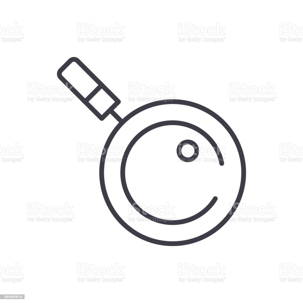 Research of the issue black icon concept. Research of the issue flat  vector symbol, sign, illustration. royalty-free research of the issue black icon concept research of the issue flat vector symbol sign illustration stock vector art & more images of analyzing