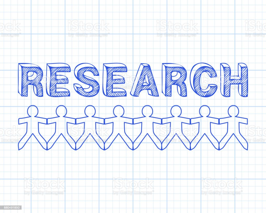 Research people graph paper stock vector art more images of crowd graph uk analyzing blueprint malvernweather Images