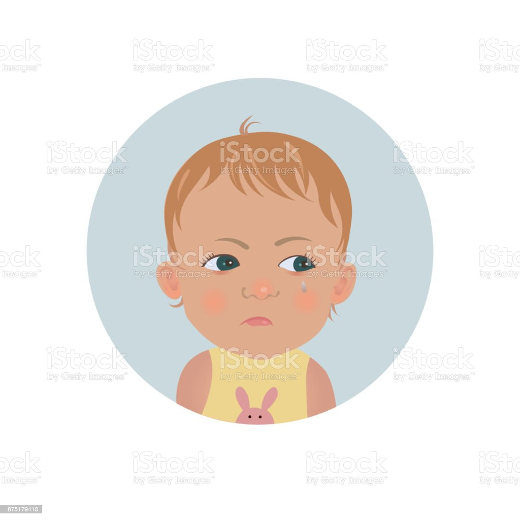 resentful child emoticon cute offended baby emoji discontent toddler