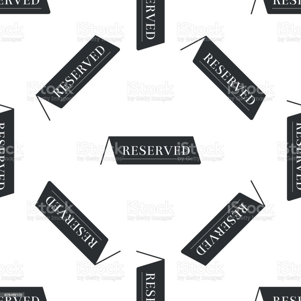 De patrones sin fisuras icono reservados sobre fondo blanco. Ilustración de vector - ilustración de arte vectorial
