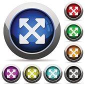Resize full alt button set