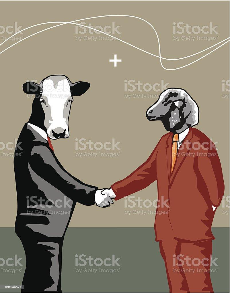Resolving differences (vector) vector art illustration
