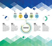 Resources Infographic Abstract Background