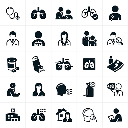 Respiratory Therapy Icons