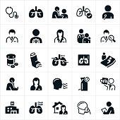 istock Respiratory Therapy Icons 913054772