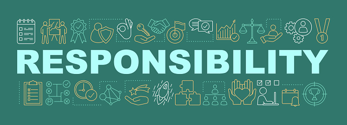 Responsibility Word Concepts Banner Stock Illustration ...