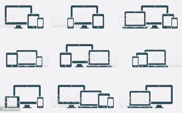 Responsive digital devices icons set vector id918218408?b=1&k=6&m=918218408&s=612x612&h=zmgzse7o zjtv zohnr1woqoxqzqlyalnlsitpm212k=