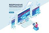 Responsive Technology Illustration