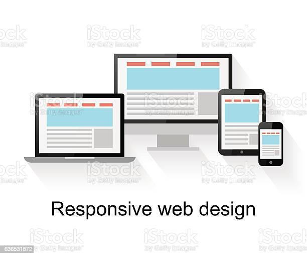 Responsive web design on computer vector id636531872?b=1&k=6&m=636531872&s=612x612&h=onx8miynh 49ius5r 0hzzltknovarhes5sx93fmfcs=