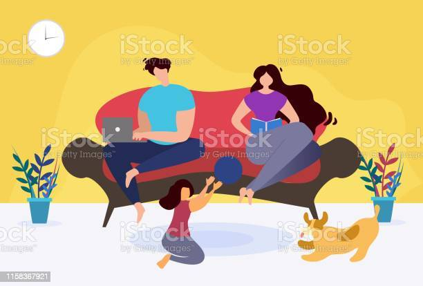 Rest and relax at home thematic family cartoon vector id1158367921?b=1&k=6&m=1158367921&s=612x612&h=ohlcydrqc6whdszkket1rbima4dlysb6cverlhbeaq4=