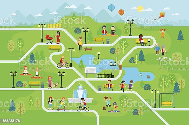 Rest in the park map infographic elements vector id638233178?b=1&k=6&m=638233178&s=612x612&h=qt3cdscejd4m9kmmwbxl5a4i4bfd61srv2bxi9hxqos=