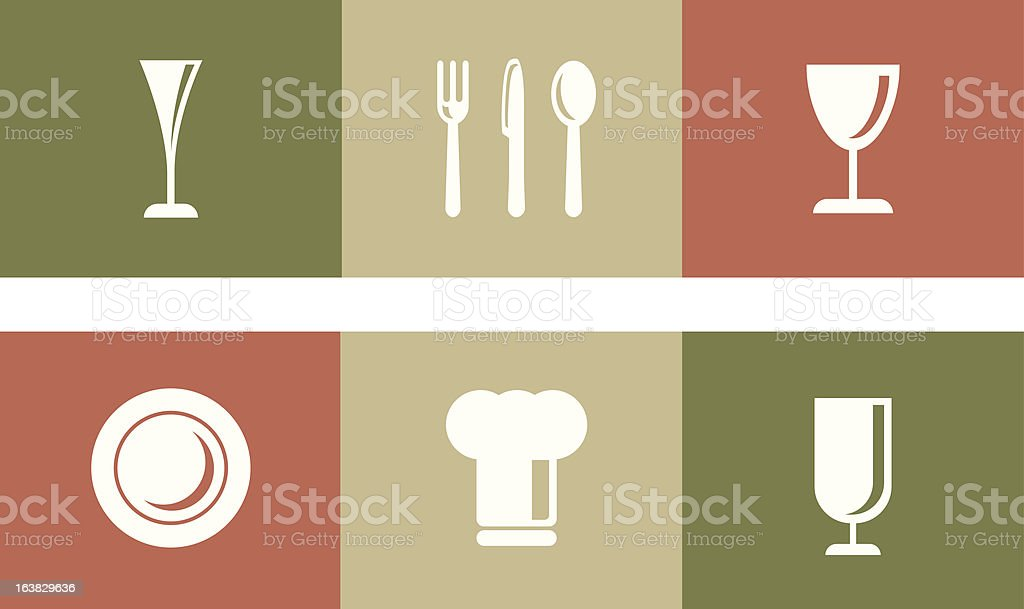 Restaurant and Catering Graphics vector art illustration
