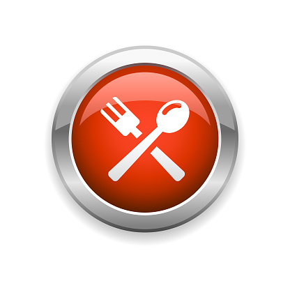 Restaurant and Food Glossy Icon