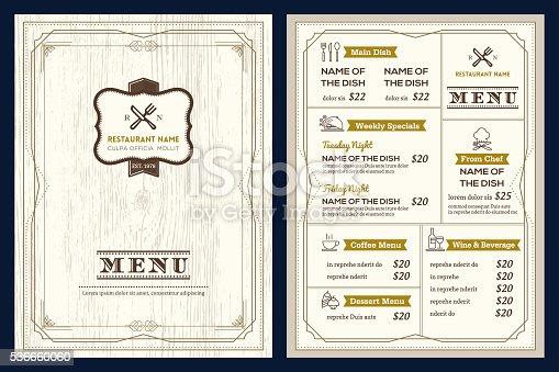 Menu Design Template from media.istockphoto.com