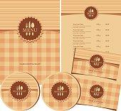 Restaurant design set