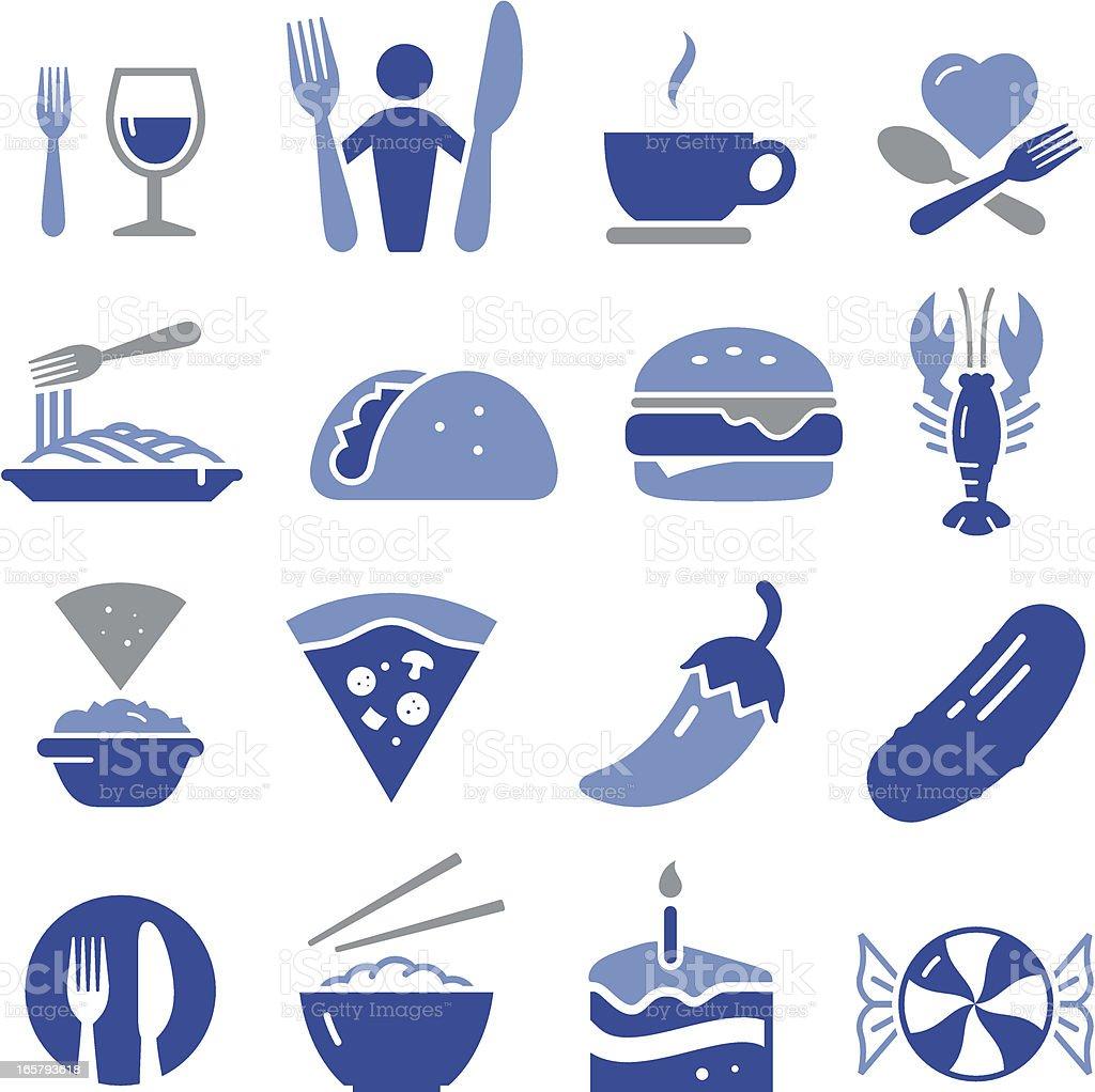 Restaurant Icons - Pro Series vector art illustration