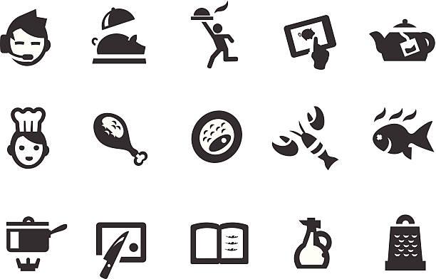 restaurant symbole - dressing stock-grafiken, -clipart, -cartoons und -symbole