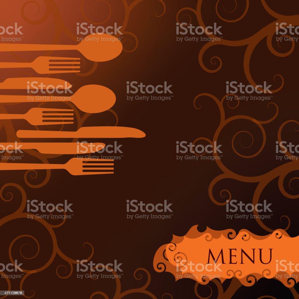 Restaurant Menu Background In Flat Design Style Stock Illustration Download Image Now Istock