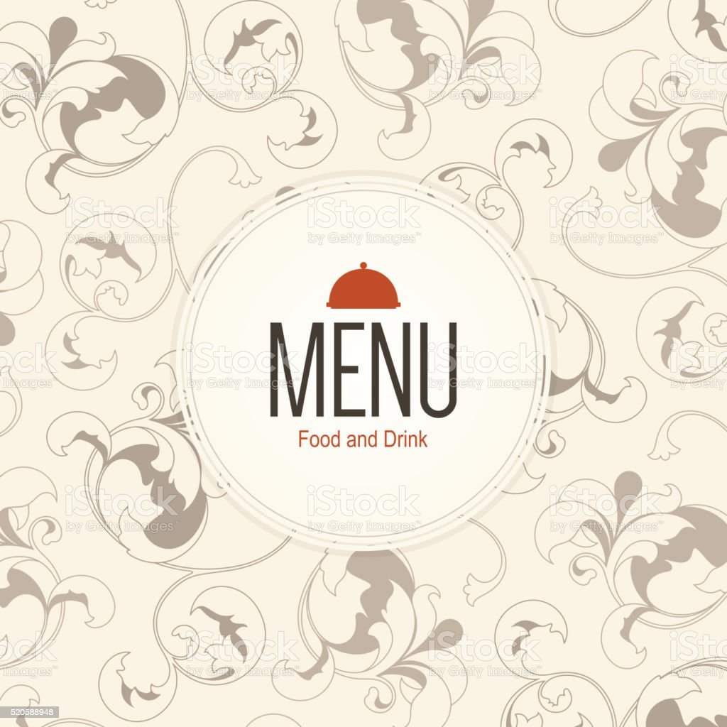 restaurant menu design stock vector art & more images of backgrounds