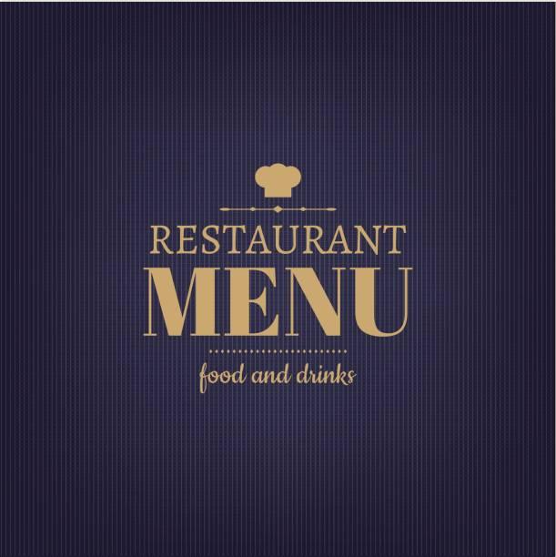 illustrations, cliparts, dessins animés et icônes de design restaurant menu - logos restauration