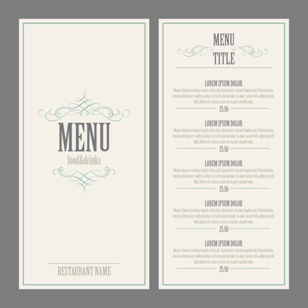 royalty free menu clip art vector images illustrations