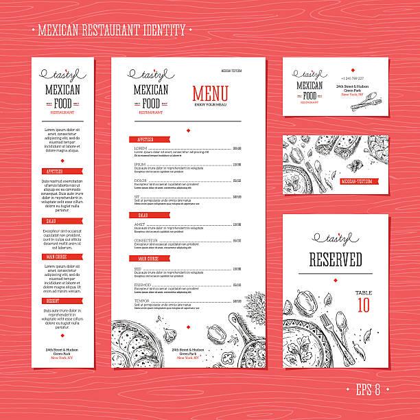 Mexikanische Küche Vektorgrafiken und Illustrationen - iStock