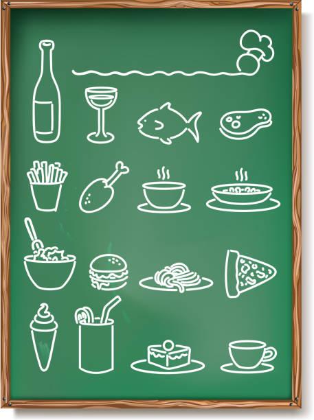 restaurant-speisekarte - fischglas stock-grafiken, -clipart, -cartoons und -symbole