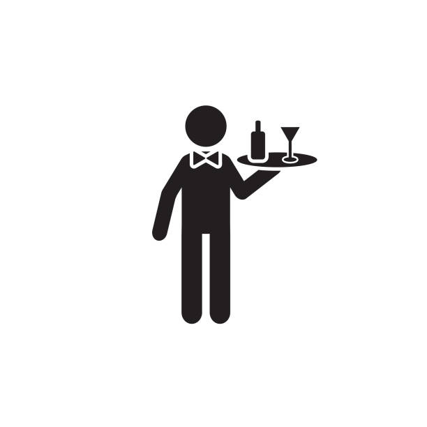 Royalty Free Wait Staff Clip Art, Vector Images