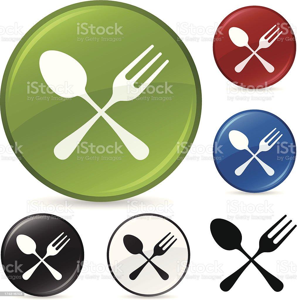 Restaurant Symbol vector art illustration