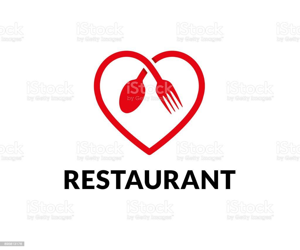 restaurant vector icon - Royalty-free Amor arte vetorial