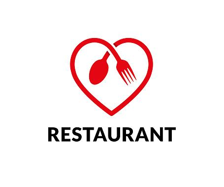 Restaurant Vector Icon - Arte vetorial de stock e mais imagens de Amor