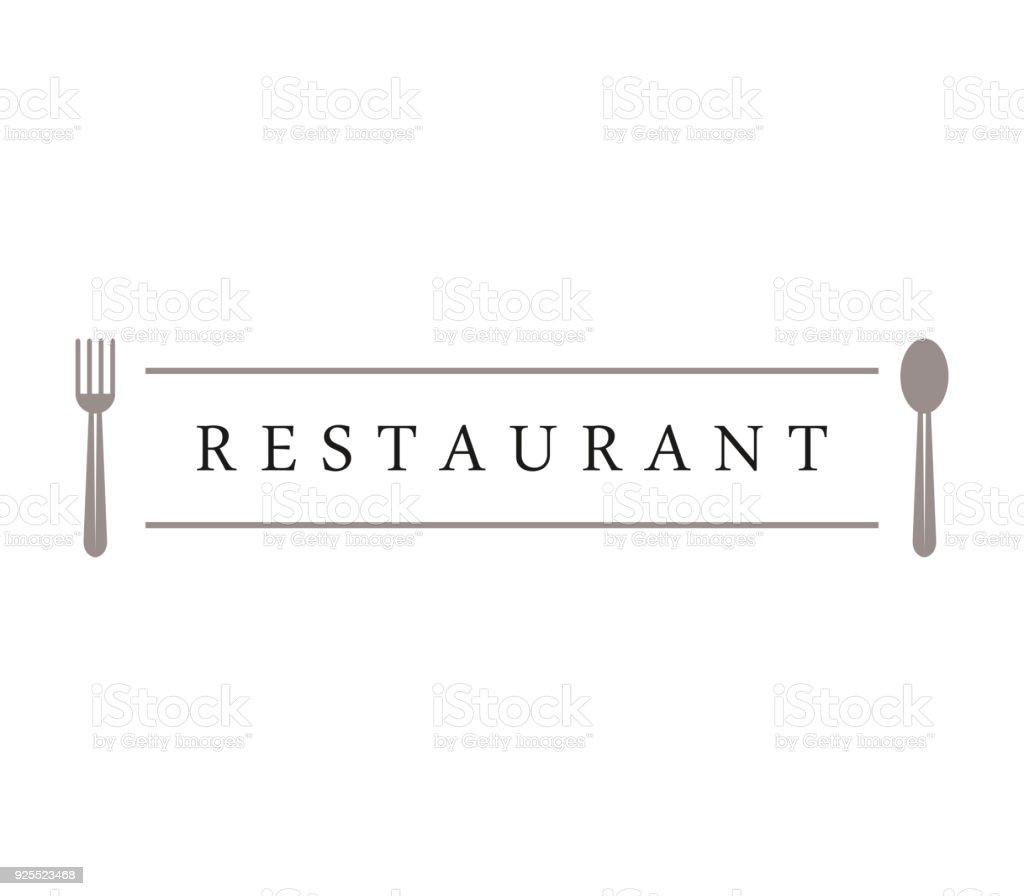Restaurante  - ilustração de arte em vetor