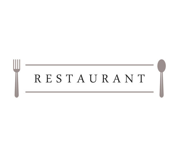 restaurant - restaurant logos stock illustrations, clip art, cartoons, & icons