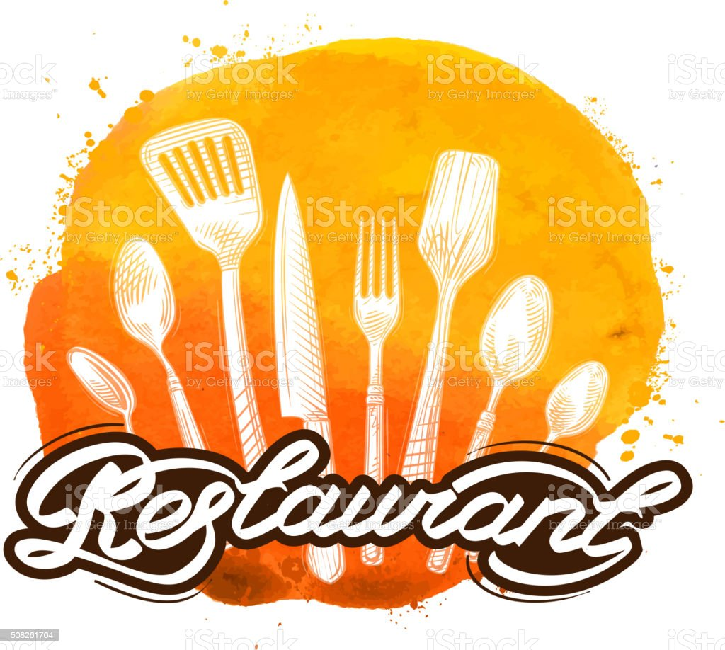 Restaurante Vector De Logotipo Diseño Plantilla Cocina Cocina Cocina ...
