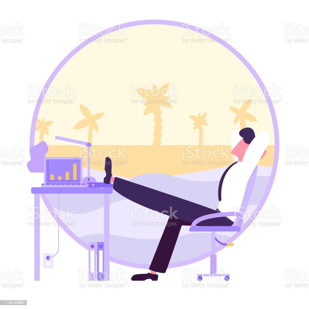 Een pauze van werk
