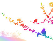 Resting Branches Breeze Rainbow