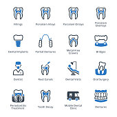 This set contains dental icons that can be used for designing and developing websites, as well as printed materials and presentations.