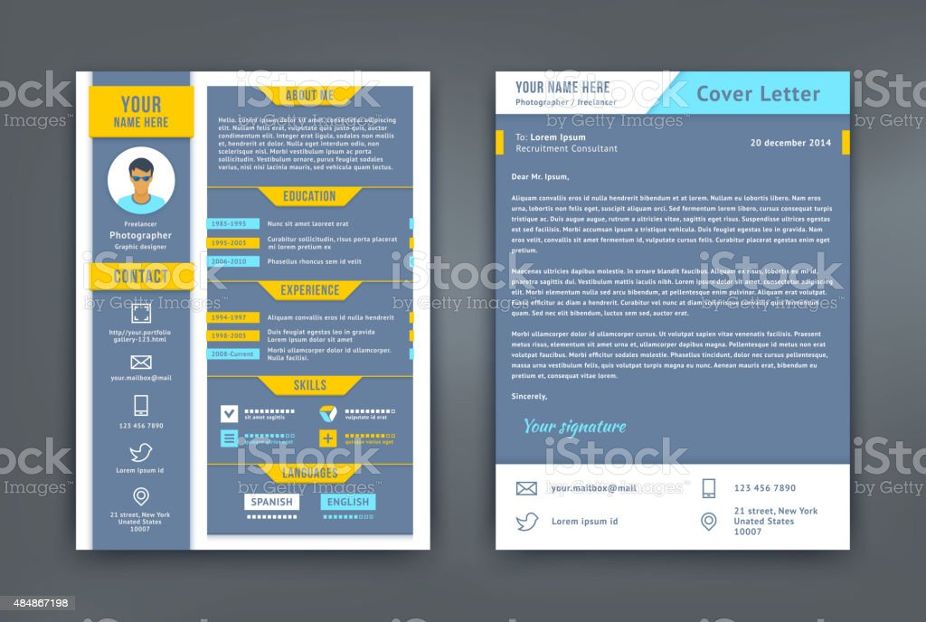 Curriculum Vitae Lettera Di Presentazione Curriculum Vitae Modello