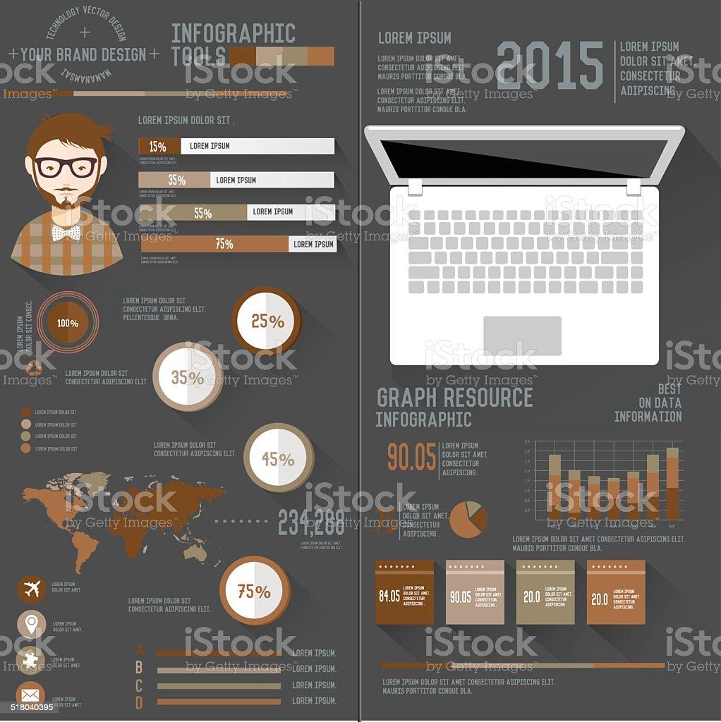 cv dinfo graphique sur fond noir sobre illustration  u2013 cliparts vectoriels et plus d u0026 39 images de