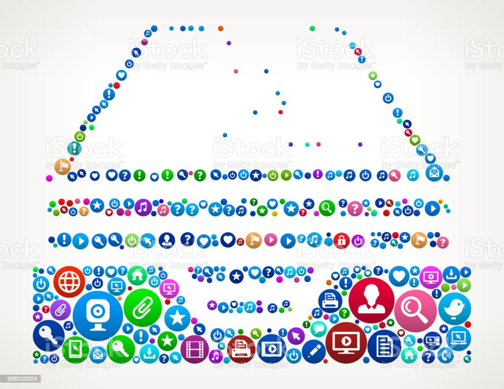Ilustracion De Curriculum Vitae Internet Comunicacion Tecnologia