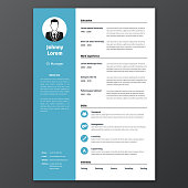 CV, resume template
