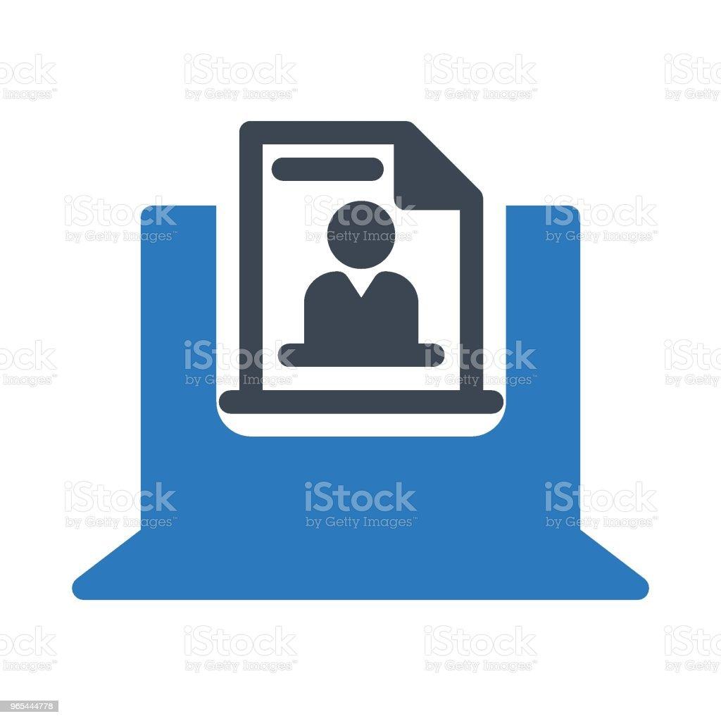 簡歷 - 免版稅互聯網圖庫向量圖形