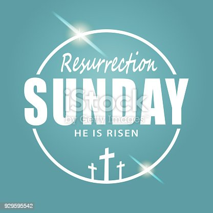 To celebrate the resurrection of Jesus Christ from the dead on the date of Easter Sunday