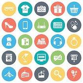 Retail Shopping Icons