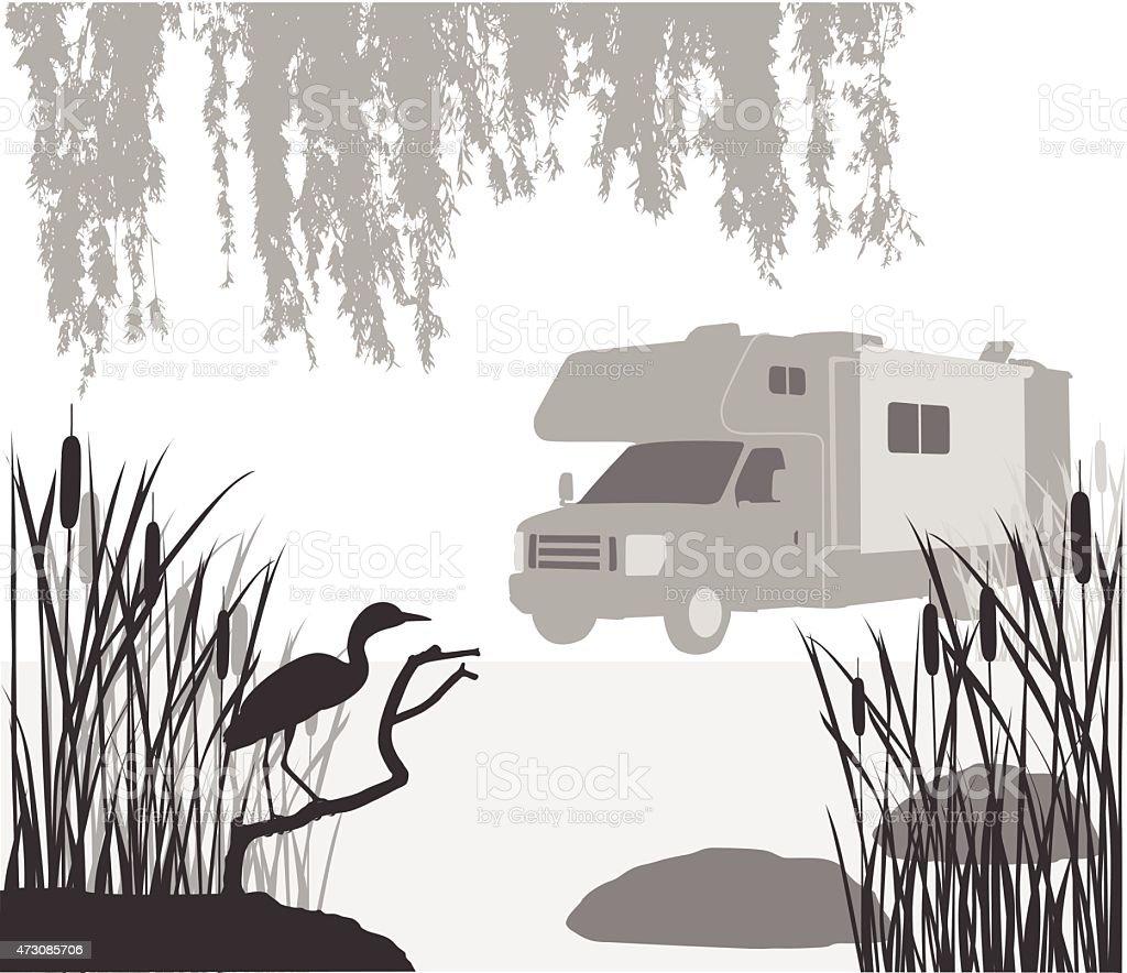 Retirement Plans vector art illustration