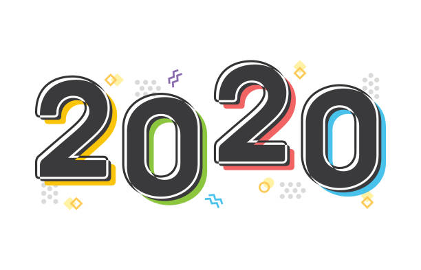 Best Happy New Year 2020 Vector Illustrations, Royalty ...