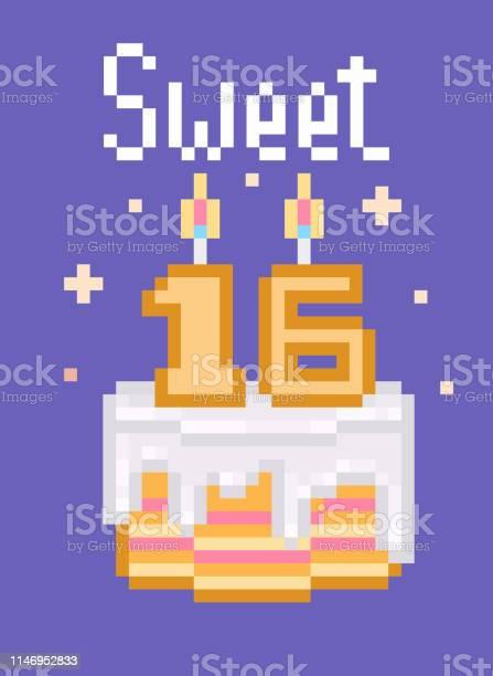 Fond De Vecteur Sweet Sixteen Telecharger Vectoriel