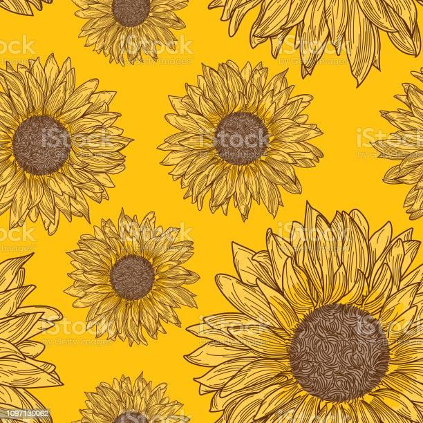 Retro 90s sunflower seamless pattern vector id1097130062?b=1&k=6&m=1097130062&s=612x612&h=wkvi8s9iehj 643ubtmysbpcaokba uaz5vyidd6wpe=