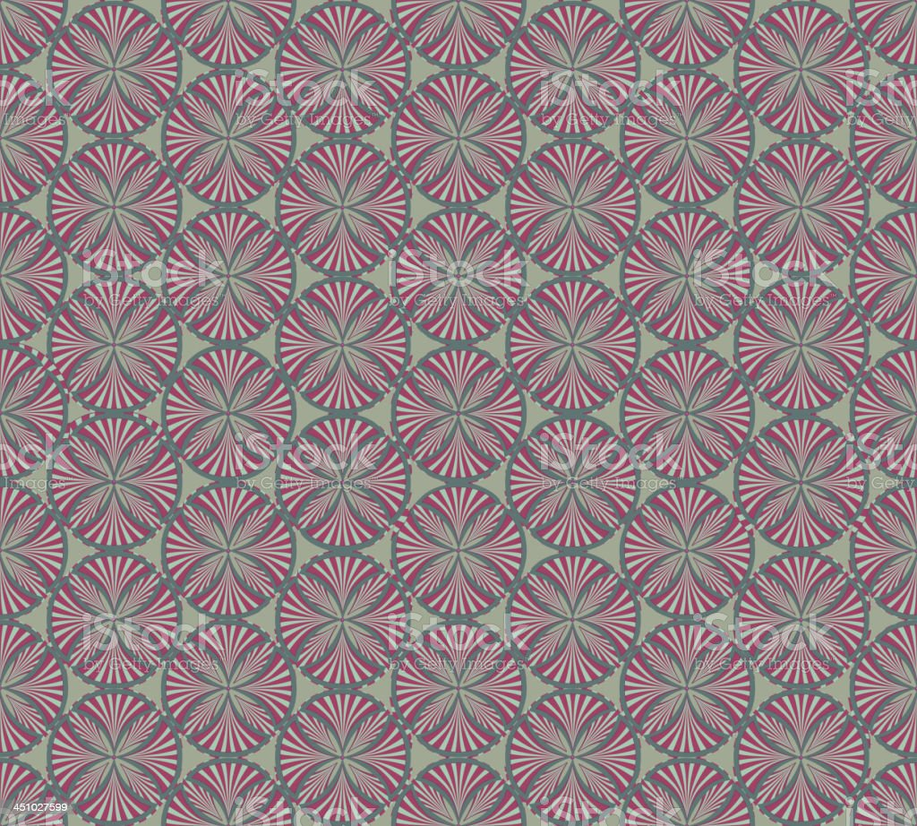 Retro abstract geometric seamless background royalty-free stock vector art