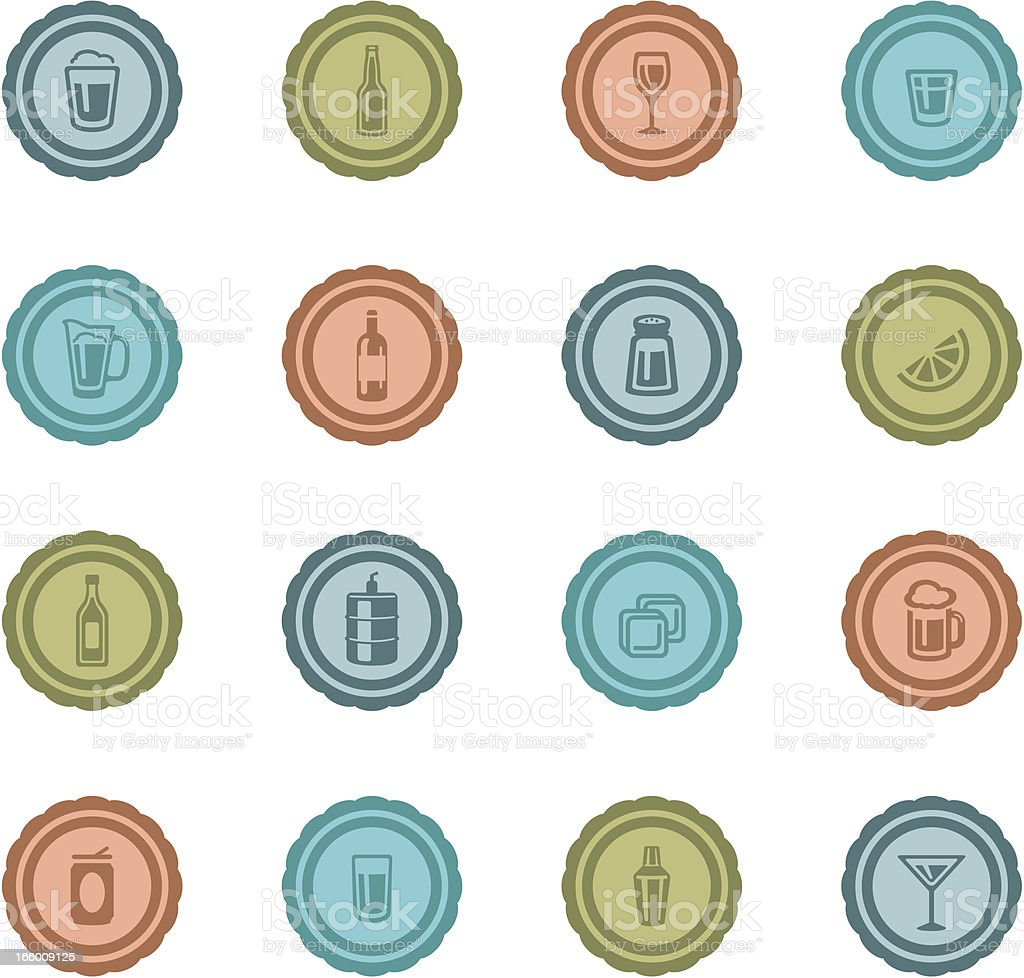Retro Alcohol Badges royalty-free retro alcohol badges stock vector art & more images of alcohol